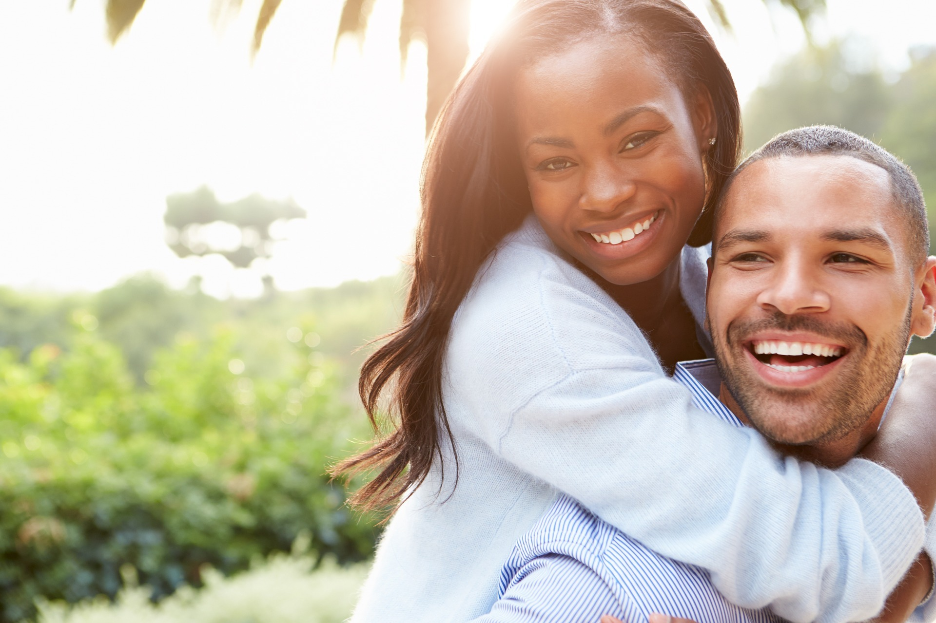 Couple goes to Hendersonville dentist for zoom teeth whitening and veneers